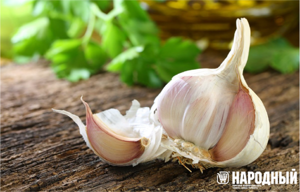 Garlic from cold and flu!